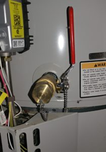 Water heater drain valve maintenance