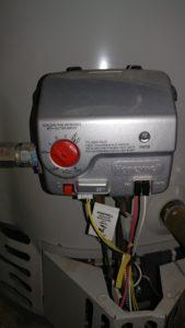 Water heater gas control valve maintenance